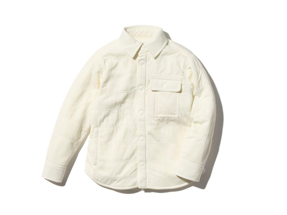 キッズフレキシブルインサレーションシャツ  1 ホワイト SW-18SK00200WH
