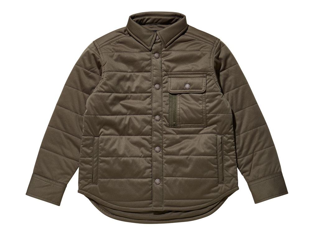 キッズフレキシブルインサレーションシャツ 1 オリーブ SW-16AK00200OL