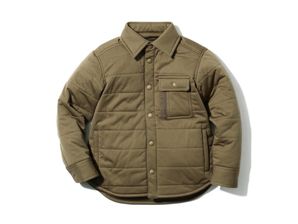 キッズフレキシブルインサレーションシャツ 1 ブラウン SW-17AK00200BR