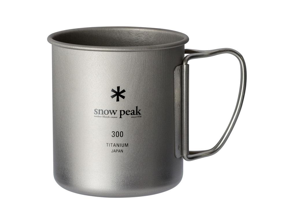 snow peak(スノーピーク)/チタンシングルマグ 300