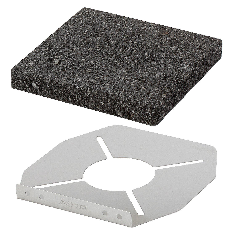 SOTO(ソト)/レギュレーターストーブ専用 溶岩石プレート