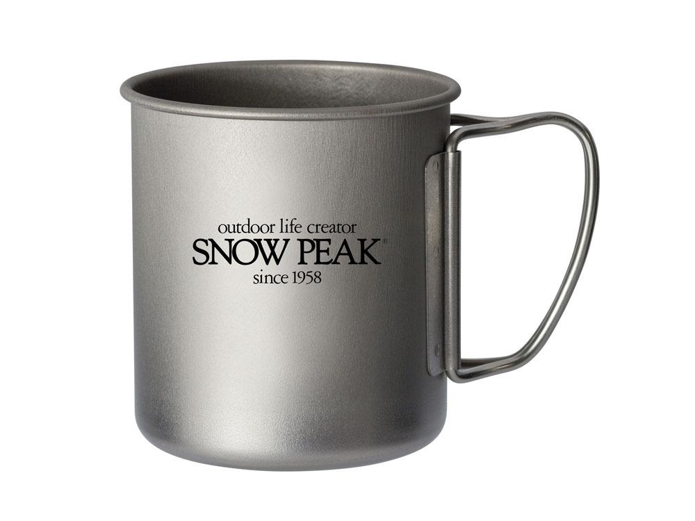 snow peak(スノーピーク)/60周年記念 チタンシングルマグ300 Letter