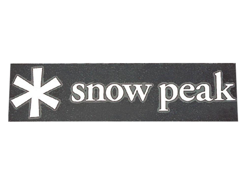 snow peak(スノーピーク)/スノーピークロゴステッカーアスタリスク S