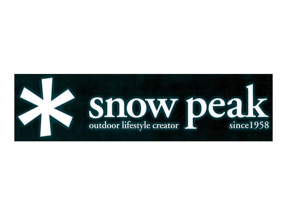 snow peak(スノーピーク)/スノーピーク ロゴ ステッカー アスタリスク