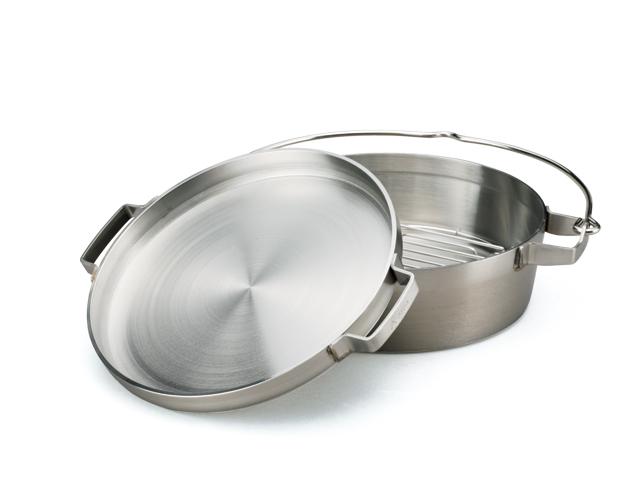 SOTO(ソト)/ステンレスダッチオーブン 10インチハーフ