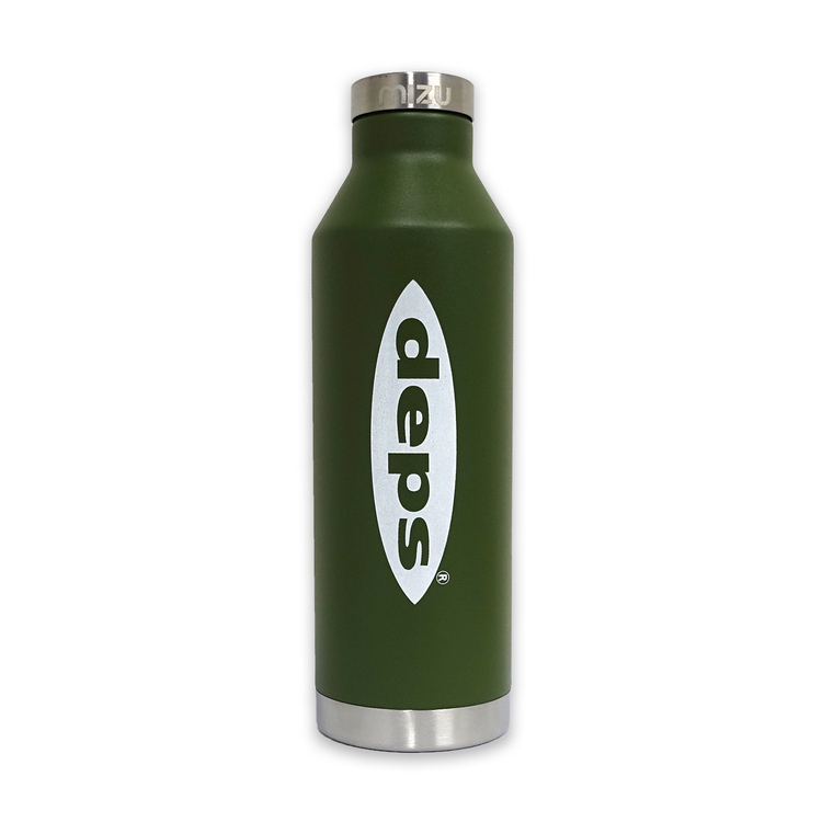 deps×mizu V8【ENDURO ARMY GREEN】