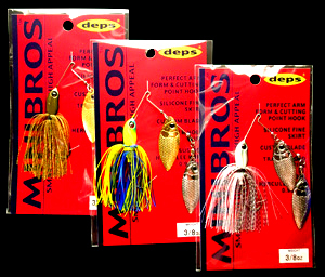 MINIBROS 1/2oz DOUBLE WILLOW / TANDEM WILLOW / TANDEM COLORAD