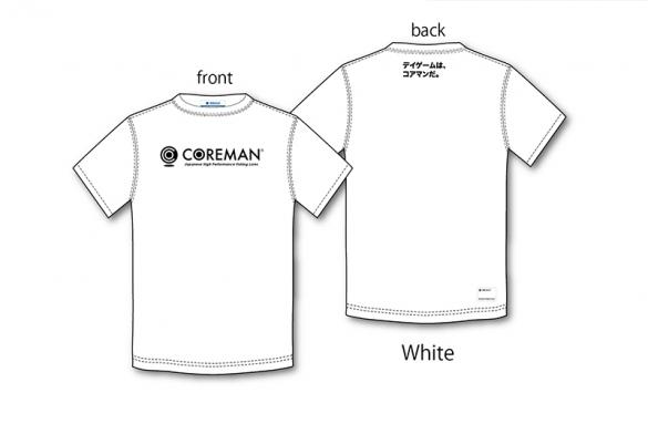 COREMAN(コアマン)/コアマン/ロゴTシャツ(ホワイト)