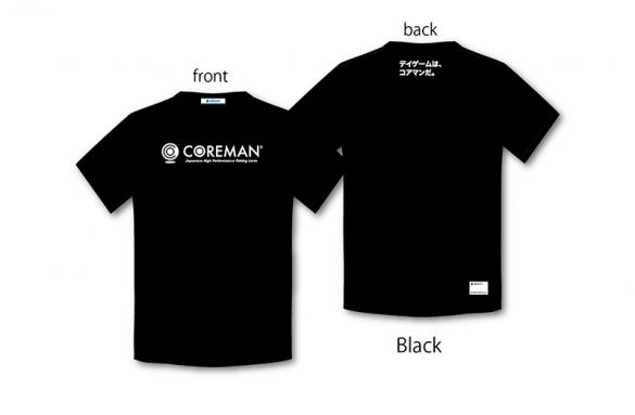 COREMAN(コアマン)/コアマン/ロゴTシャツ(ブラック)