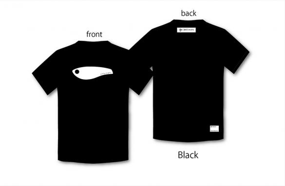 COREMAN(コアマン)/コアマン/アイコンTシャツ(ブラック)