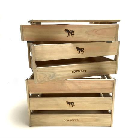 COW BOOKS(カウブックス)/Wood Box