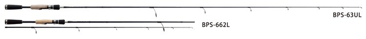 Major Craft(メジャークラフト)/バスパラ スピニング / BPS-63L