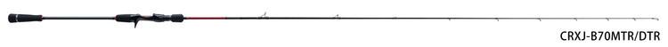 「三代目」クロステージ鯛ラバ / CRXJ-B69MLTR/DTR