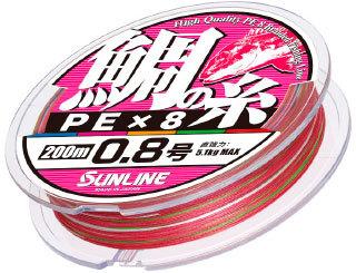 鯛の糸PE ×8