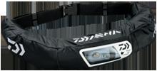 DAIWA(ダイワ)/DF-2207 ウォッシャブルライフジャケット(ウエストタイプ手動・自動膨脹式) / ブラック