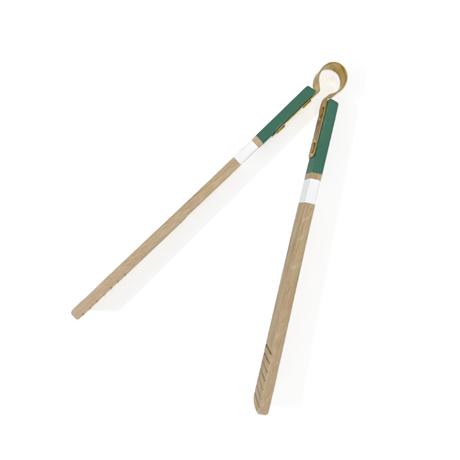 T.S.L CUB(ティエスエルカブ)/wooden tongs