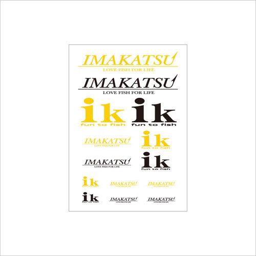 IMAKATSU/ik アソートステッカー