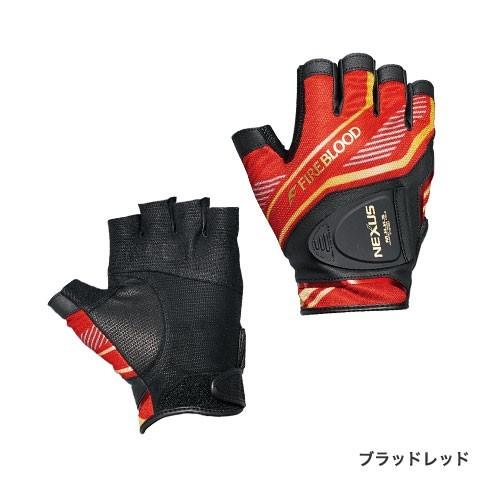 SHIMANO(シマノ)/NEXUS・レザノヴァ®プリントグローブ5  LIMITED PRO /  GL-142Q