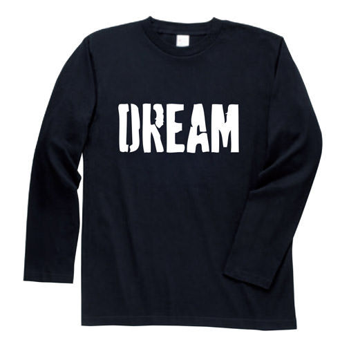 【BIG BASS DREAMS】LONG T-SHIRT DREAM BLACK