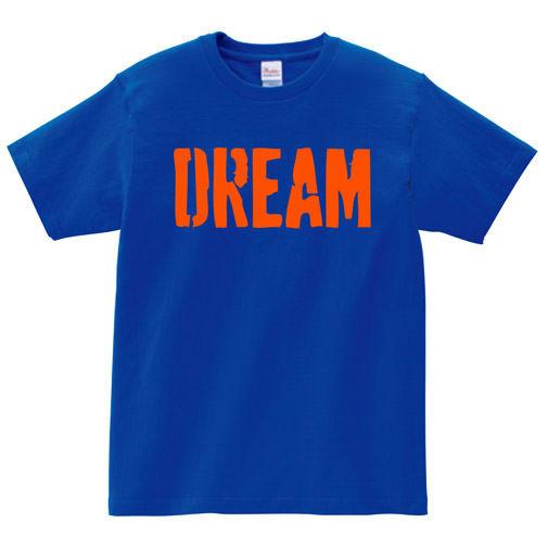 【BIG BASS DREAMS】T-SHIRT DREAM ROYAL BLUE