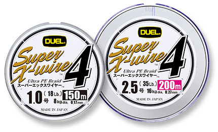 DUEL(デュエル)/Super X-wire™4