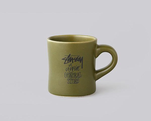 STUSSY Livin' GENERAL STORE(ステューシー リヴィン ジェネラルストア)/マグカップ