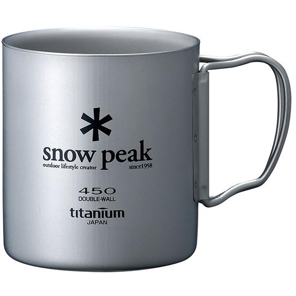snow peak(スノーピーク)/チタンダブルマグ 450