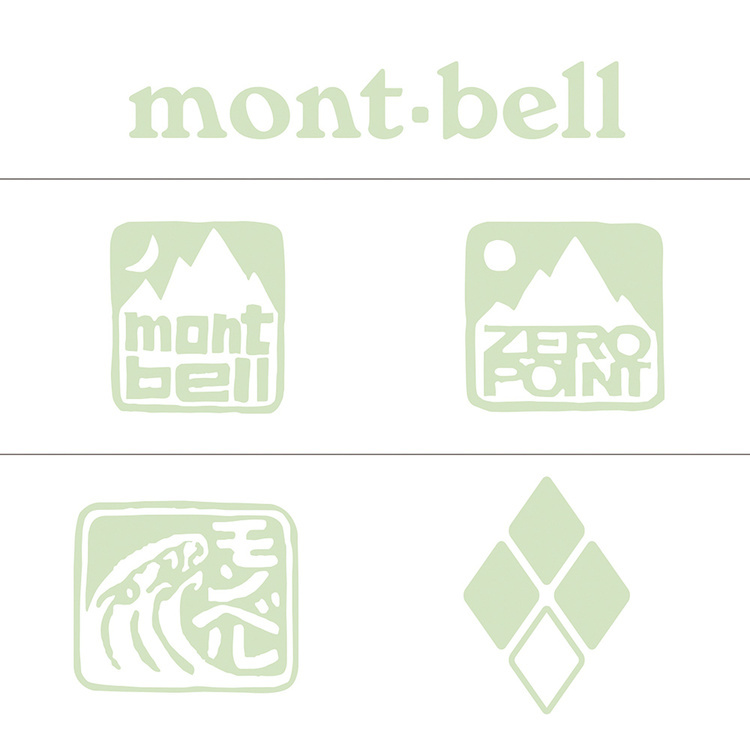 mont-bell(モンベル)/イルミ ステッカー mont-bell