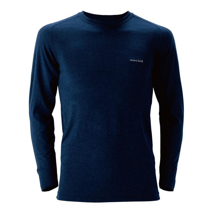 mont-bell(モンベル)/スーパーメリノウール M.W. ラウンドネックシャツ Men's
