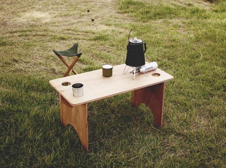 """木印(Kijirushi)/FIELD TABLE """"finished"""""""