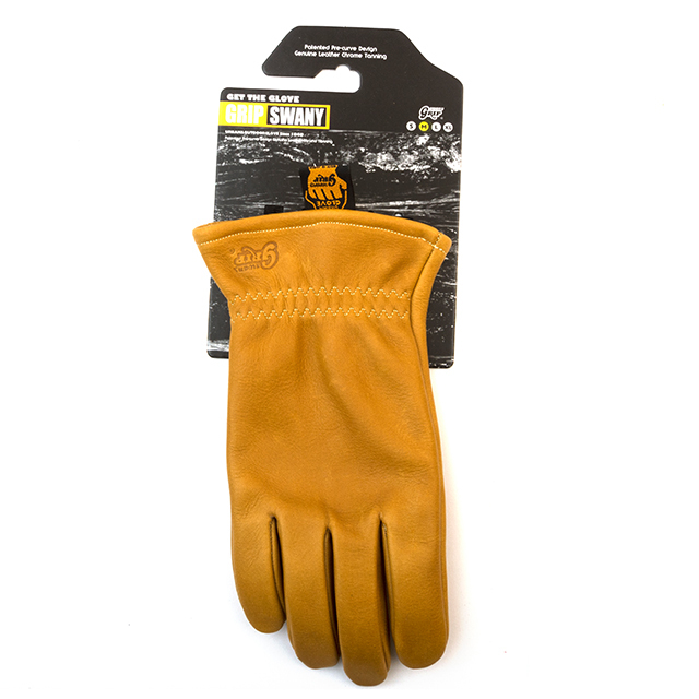 Grip Swany(グリップスワニー)/[G-50] LEATHER WORK GLOVE / CAMEL