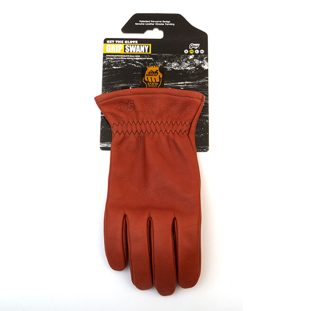 Grip Swany(グリップスワニー)/[G-50] LEATHER WORK GLOVE / RED