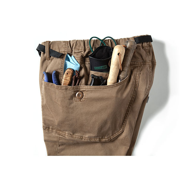 Grip Swany(グリップスワニー)/[GSP-55] JOG 3D CAMP PANTS / SOIL