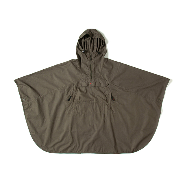 Grip Swany(グリップスワニー)/[GSJ-40] FIREPROOF PONCHO / OLIVE