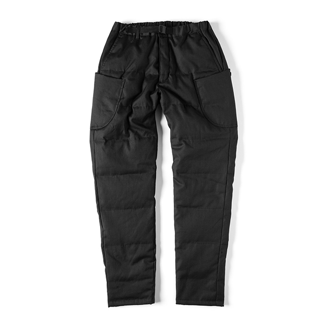 Grip Swany(グリップスワニー)/[GSP-50] FIREPROOF DOWN PANTS / BLACK