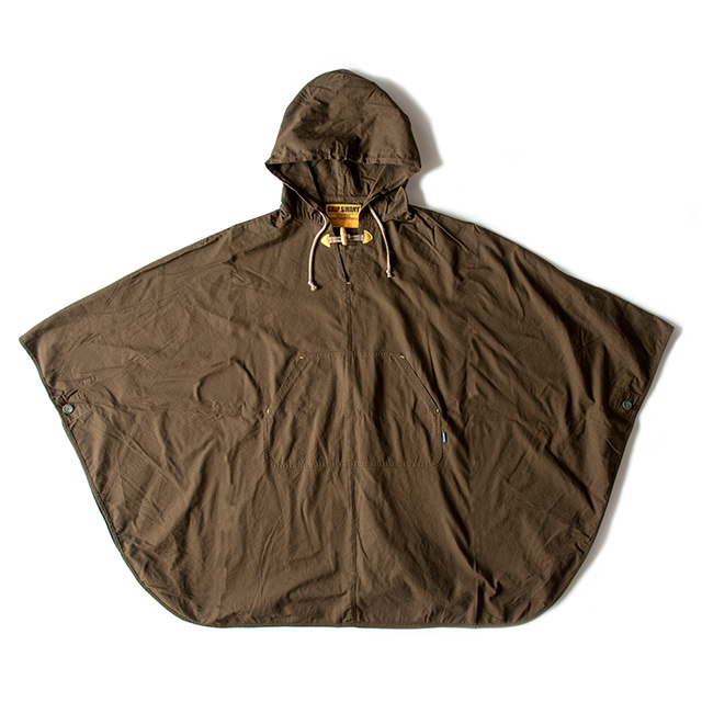 Grip Swany(グリップスワニー)/[GSJ-32] FIRE PONCHO / OLIVE