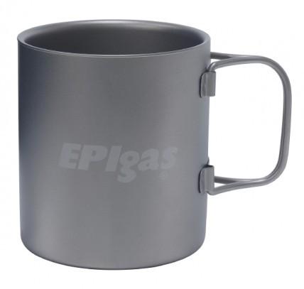 EPIgas(イーピーアイガス)/ダブルウォールチタンマグ