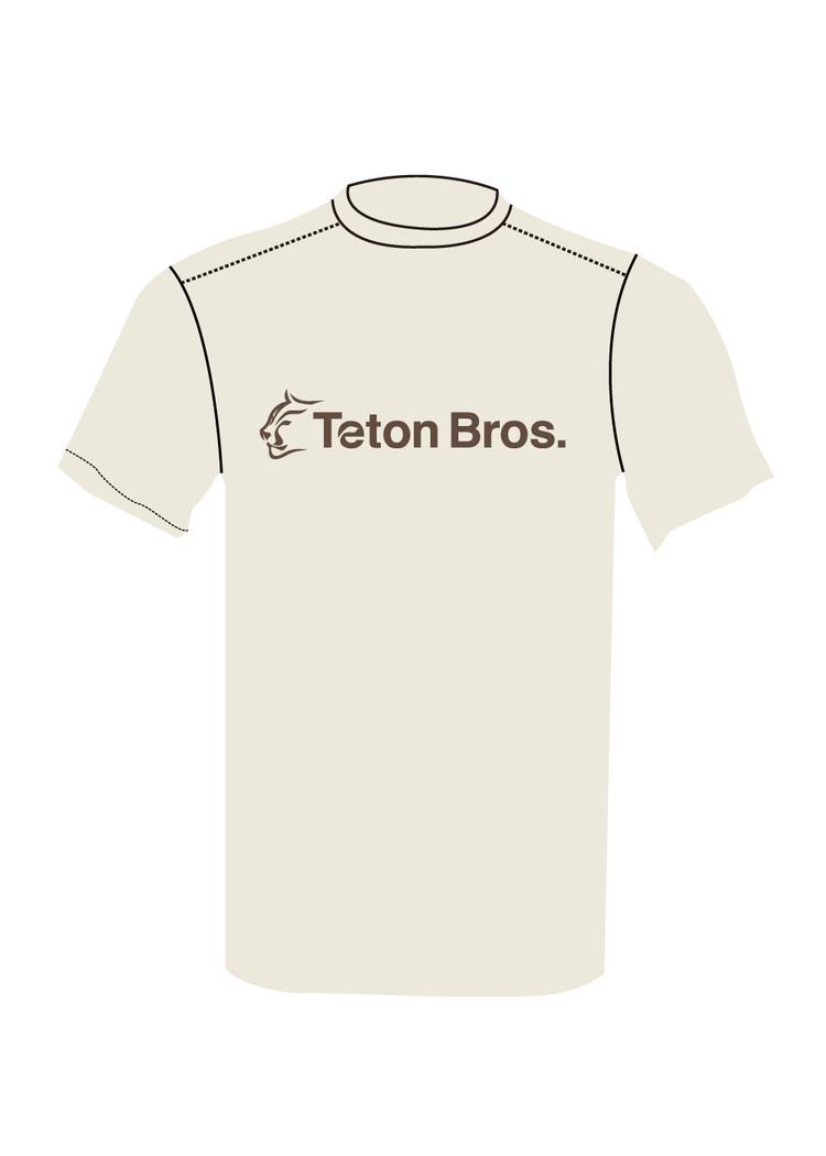 Teton Bros.( ティートン ブロス)/Standard Logo Tee (Men)
