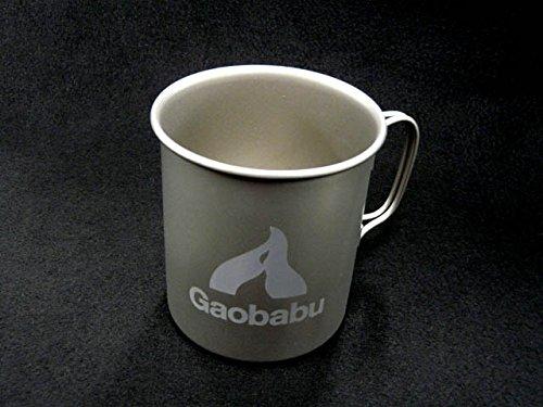 Gaobabu(ガオバブ)/チタンマグカップ 400ml
