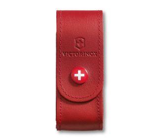 Victorinox(ビクトリノックス)/レザーケース レッド