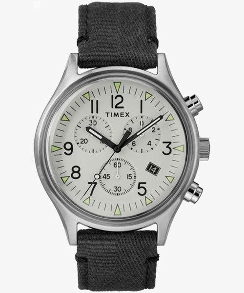 TIMEX(タイメックス)/MK1 スチール クロノ 42mm グレー