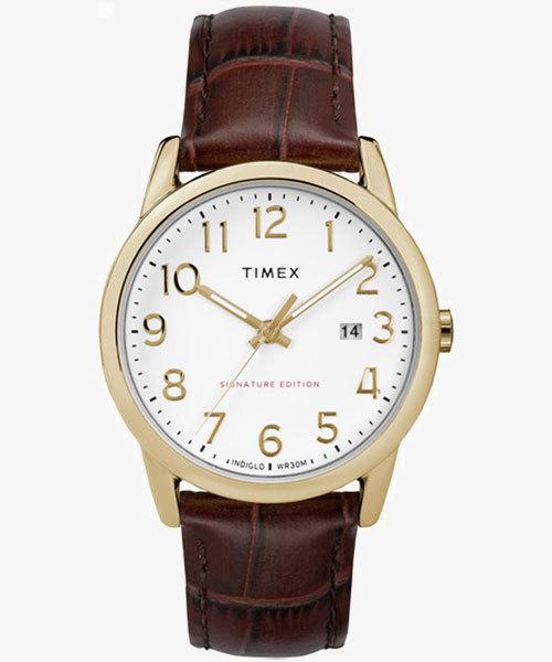 TIMEX(タイメックス)/イージーリーダー シグネチャー 38mm ブラウン