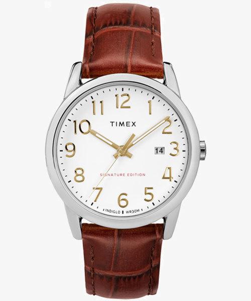 TIMEX(タイメックス)/イージーリーダー シグネチャー 38mm ライトブラウン