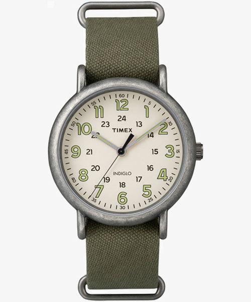 TIMEX(タイメックス)/ウィークエンダー 40mm アンティーク オリーブ