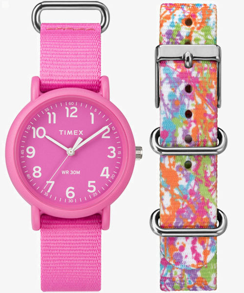 TIMEX(タイメックス)/ウィークエンダー カラーラッシュ ピンク
