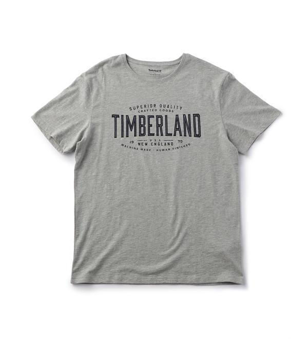 Timberland(ティンバーランド)/メンズ 半袖 エクレクティック フロント グラフィック ティー