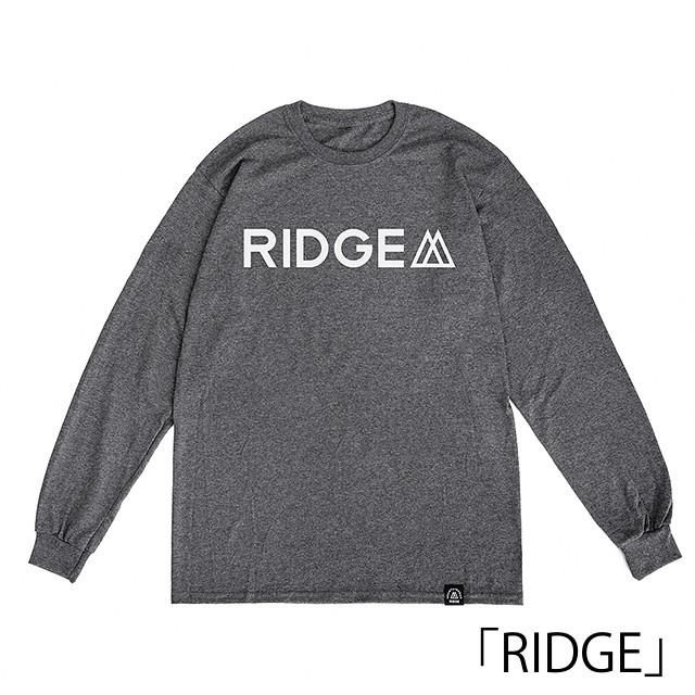 RIDGE MOUNTAIN GEAR(リッジマウンテンギア)/Logo Print Long Sleeve Tee