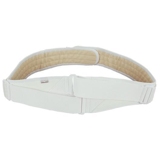 腰部骨盤ベルト(補助ベルト付)ホワイト[ユニセックス]