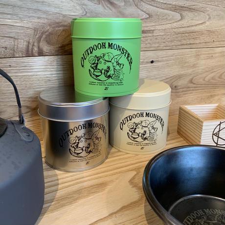 OUTDOOR MONSTER(アウトドアモンスター)/お茶缶