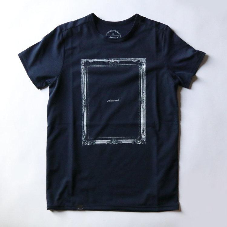 "Answer4(アンサーフォー)/""Frame"" Tshirt"